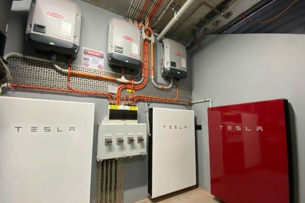 Tesla Battery System Extension