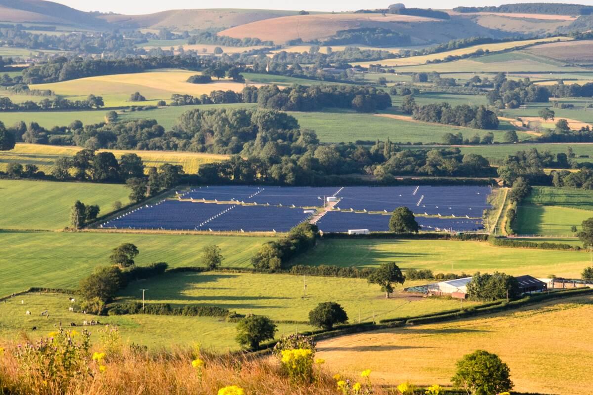 Solar Farm Complete
