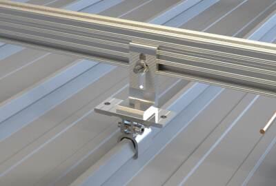Solar Klik Clamp for Seam Roof
