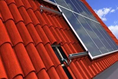 Solar Tile Bracket for Tile Roof