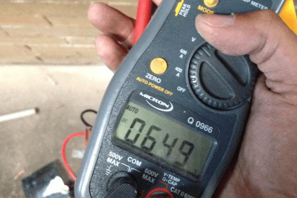 Testing Solar Voltages